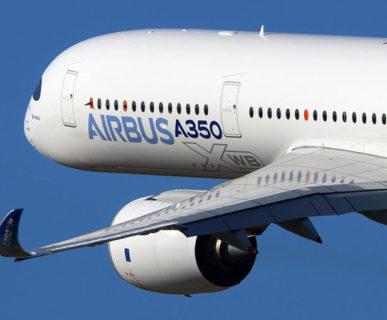 Airbus A350 aircraft