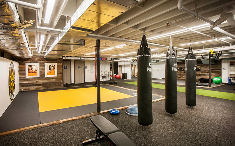 Work Hard Train The 4 000 Square Foot Gym Has Three Trainers On Staff Who Also Teach Cles Jiu Jitsu Setup Makes Sense When You Consider That